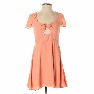 Lovers + Friends SZ S Cocktail Dress Peach Orange